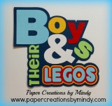 Boys and Their Legos Title