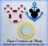 Disney Cruise Embellishments I21