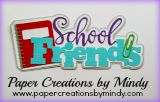 School Friends Title Purple