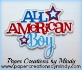 All American Boy Title