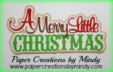 A Very Merry Little Christmas Title