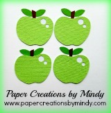 Apple Embellishments Green