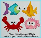 Aquarium Creature Fish Set