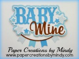 Baby Mine Title Blue