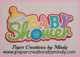 Baby Shower Title Pink