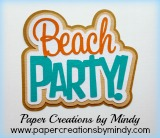Beach Party Title