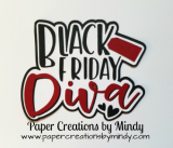 Black Friday Diva Title