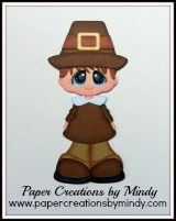 Bobble Buddy Pilgrim Boy