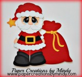 Bobble Buddy Santa Layered