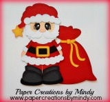 Bobble Buddy Santa Oval