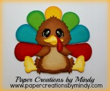 Bobble Turkey - Oval Shaped Eyes