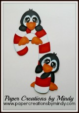 Penguins with Candycane