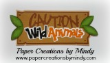 Caution Wild Animals Title