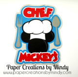 Disney Chef Mickey Title