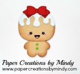 Chibi Gingerbread Bow
