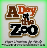Day at the Zoo Title