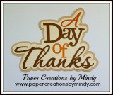 Day of Thanks Title