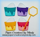 Easter Eggs Dipping Cups