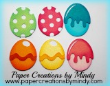 Colored Eggs Set