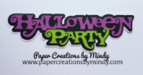 Halloween Party Title