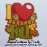I Heart Fall Title