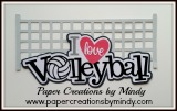 I Love Volleyball Title