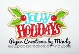 Jolly Holiday Christmas Title