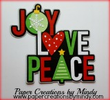 Joy Love Peace Title
