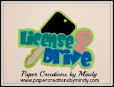 License To Drive Title - Pink