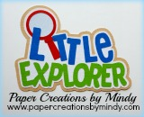 Little Explorer Title Green