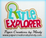 Little Explorer Title Pink