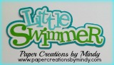 Little Swimmer Title - Green