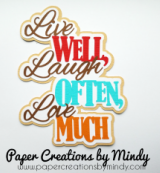 Live Well Laugh Often Love Much Title
