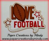 Love Football Title
