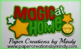 Magic at Home Title