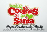 Making Cookies for Santa Title