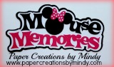 Mouse Memories Title  - Minnie