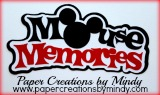 Mouse Memories Title - Mickey