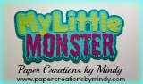 My Little Monster Title