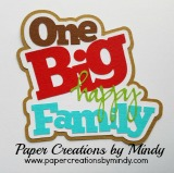 One Big Happy Family Title