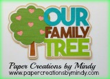 Our Family Tree Title