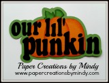 Our lil' Punkin Title