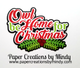 Owl Be Home For Christmas CCD Title