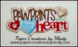Pawprints on my Heart Title