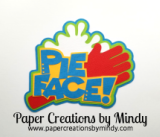 Pie Face Board Game Title