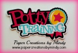 Potty Training Title Pink