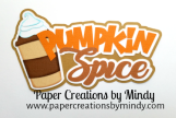 Pumpkin Spice Fall Title