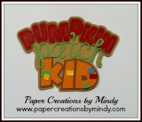 Pumpkin Patch Kid Title