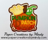 Pumpkin Patch Princess Title