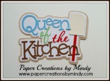 Queen of the Kitchen TItle